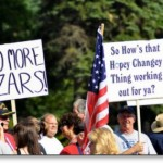 Tea Party Hopey Change sign