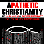 """Flu-Shot Jesus: Candy Christianity's Magical Superpal  (Sample Chapter from """"Apathetic Christianity – The Zombie Religion of American Churchianity"""")"""