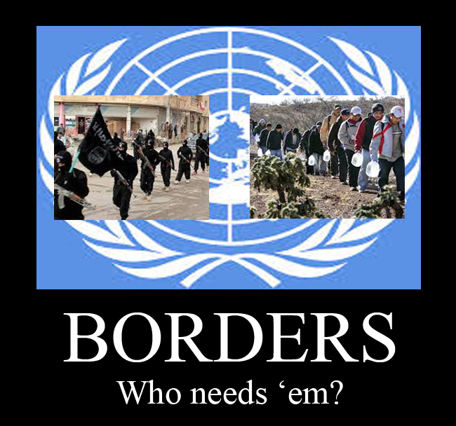 Imagine there's no borders…it's easy if you try…