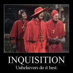 Everybody Expects…The Liberal Inquisition!