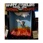 """This Satanic Temple Holiday Display Has Been Brought To You By: American Pride and """"Freedom"""""""