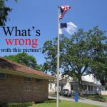 Whose flag should fly highest over America?
