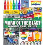 """Corporate America's Big Gay Push (Or: """"Mark of the Beast"""" economics, here we come!)"""
