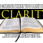 """We can't """"pray away"""" the clarity of Scripture…and we shouldn't want to."""