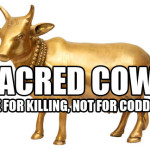 Want to end abortion, corruption, and the Big Gay Wave? Start killing sacred cows.