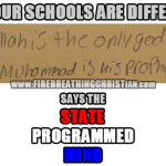 """But """"Our Schools Are Different!"""", Says The State-Discipled Mind"""