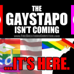 Get with the Big Gay Program…or go to jail.