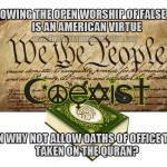 "Muslim American Judge Swears on Quran; ""Christian Americans"" Flip Out"