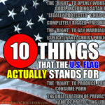 10 Things The US Flag Actually Stands For