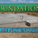 Foundations are the beginning, not the end. (So can we please get on with building something already?)