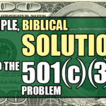 A simple, foolproof solution to the 501(c)(3) church problem.