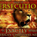What if persecution is exactly what American Christianity needs?
