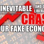 The inevitable (and liberating) crash of our fake economy.