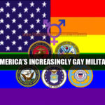 American Military Celebrates Gayness; Begs For Wrath Of God Upon America