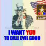 US Army Gives God The Finger (Again)