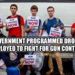 "Government Deploys Public School Drones In Battle For ""Gun Control"""