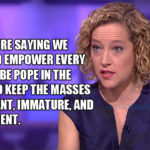Lone Ranger Christianity's Cathy Newman Complex