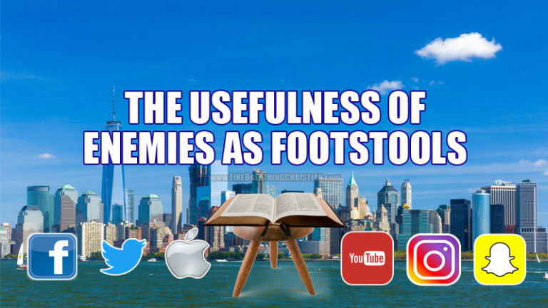 The Usefulness Of Enemies As Footstools