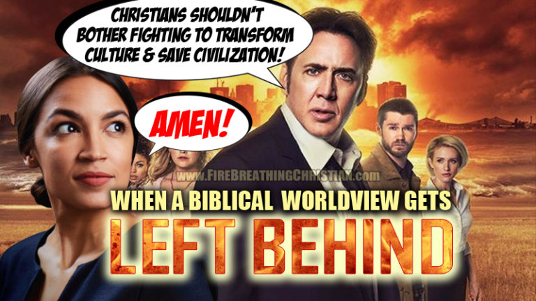 The Rapture and Global Warming: Laughably Bad Eschatologies with Deadly Serious Consequences